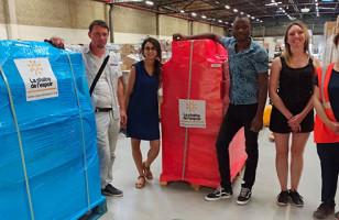 Premiers envois de matériels et consommables au Liban