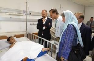 Visite de l'Ambassadeur
