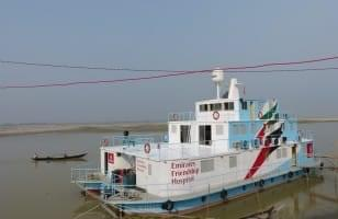 Un bateau-hôpital Friendship
