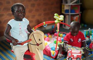 Les Pavillons des Enfants, une action globale pour des enfants isolés