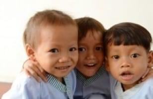 Pavillon des Enfants au Cambodge