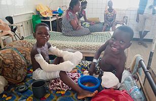 Au Bénin, notre savoir se décline dans les services hospitaliers dédiés aux grands brûlés