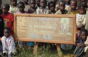 L'école maternelle à Dossounou