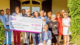 44000 euros au profit de la chaine de l espoir