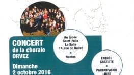 concert de la chorale orvez a nantes