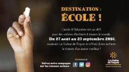 destination   ecole