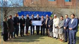 don de 60 000$ pour le pavillon des enfants a kaboul