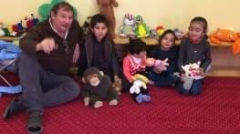 donating toys in kabul