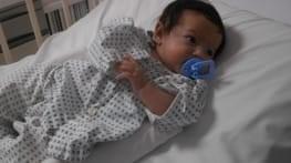 kaboul   premiere dilatation d une valve pulmonaire sur un bebe