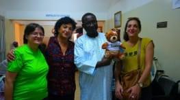 l'association pharmavie en voyage humanitaire a bamako au mali