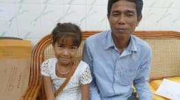 sokha underwent heart surgery in cambodia