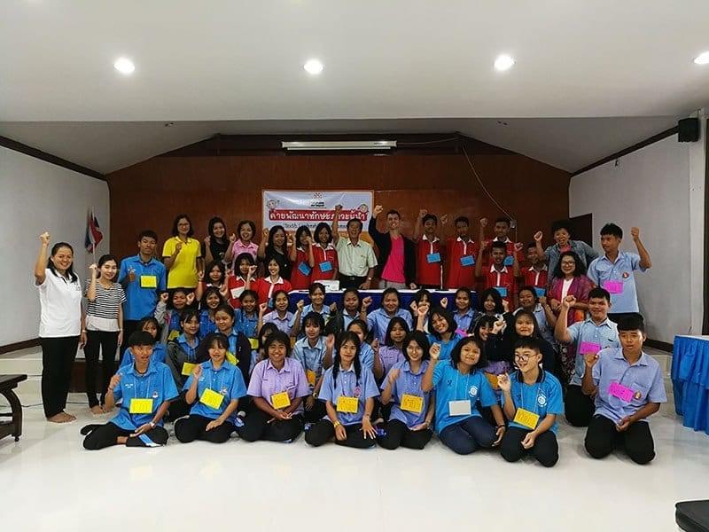 Ateliers de formation pour les enfants Thaïlandais