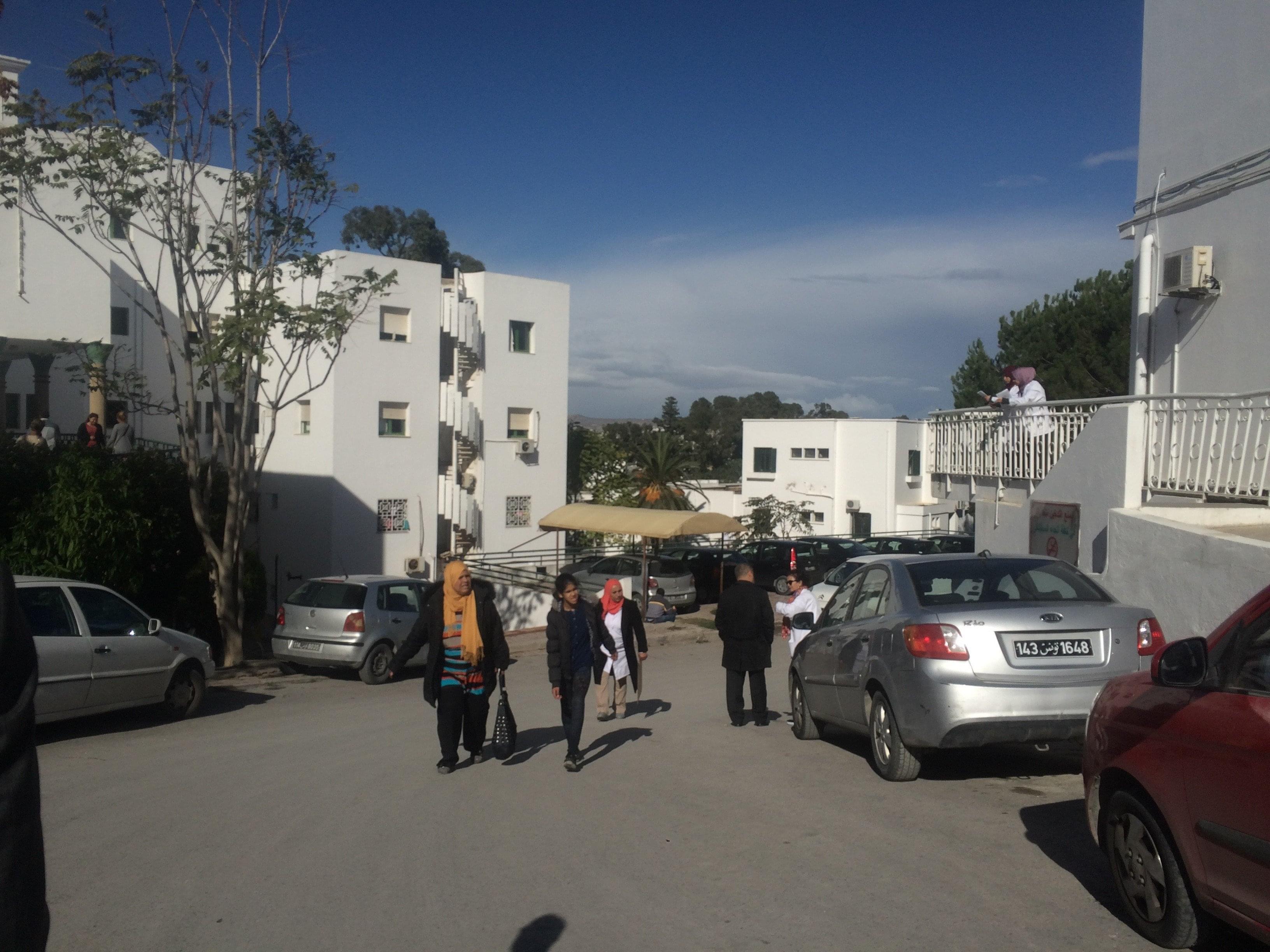 CHU de la Rabta en Tunisie