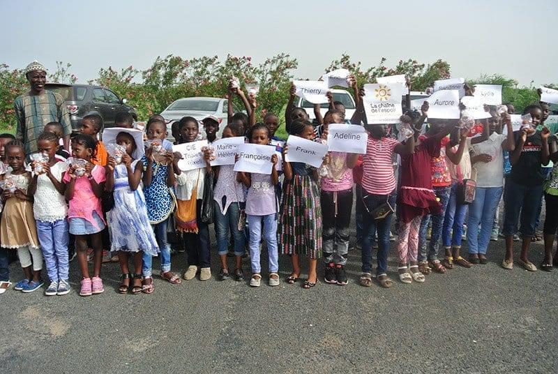 Vol solidaire au Sénégal