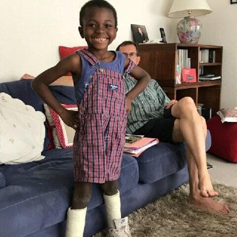 Zakaria après son opération